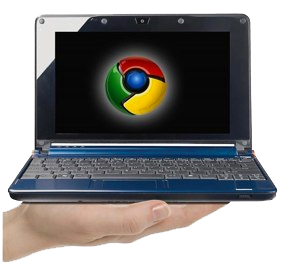 Chrome OS auf Google Netbook ;-)